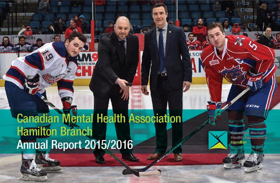 CMHA Hamilton's 2015/2016 Annual Report