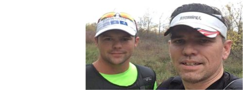 Andrew Poustie and Josh Turner to run in support of CMHA