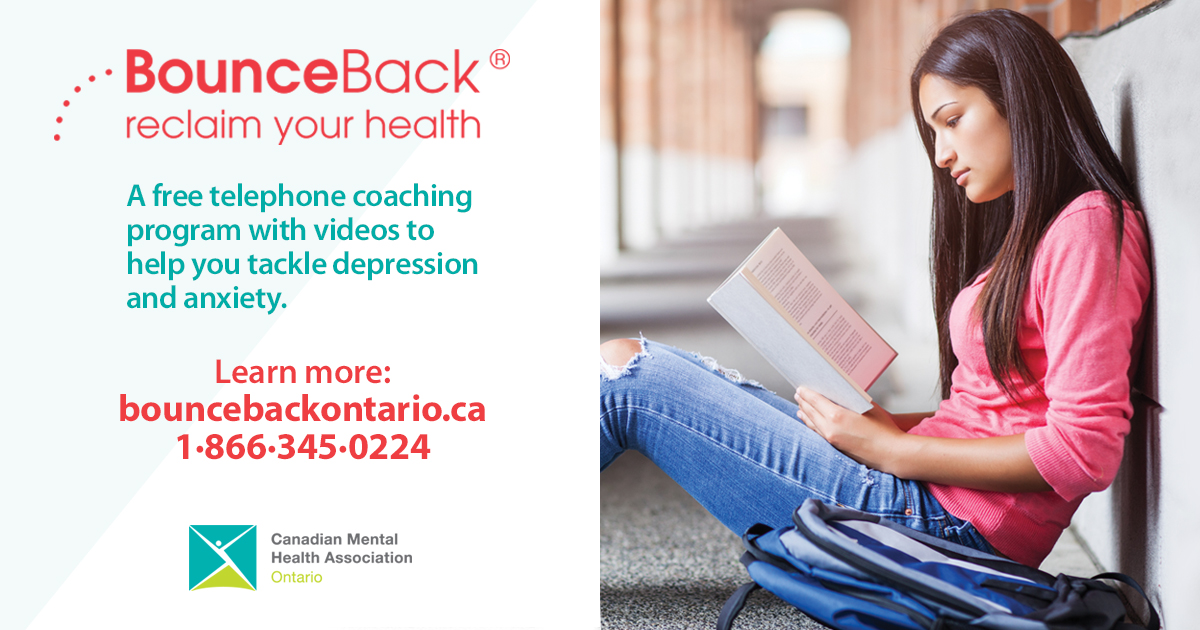 Free provincial program now available to help manage depression and anxiety