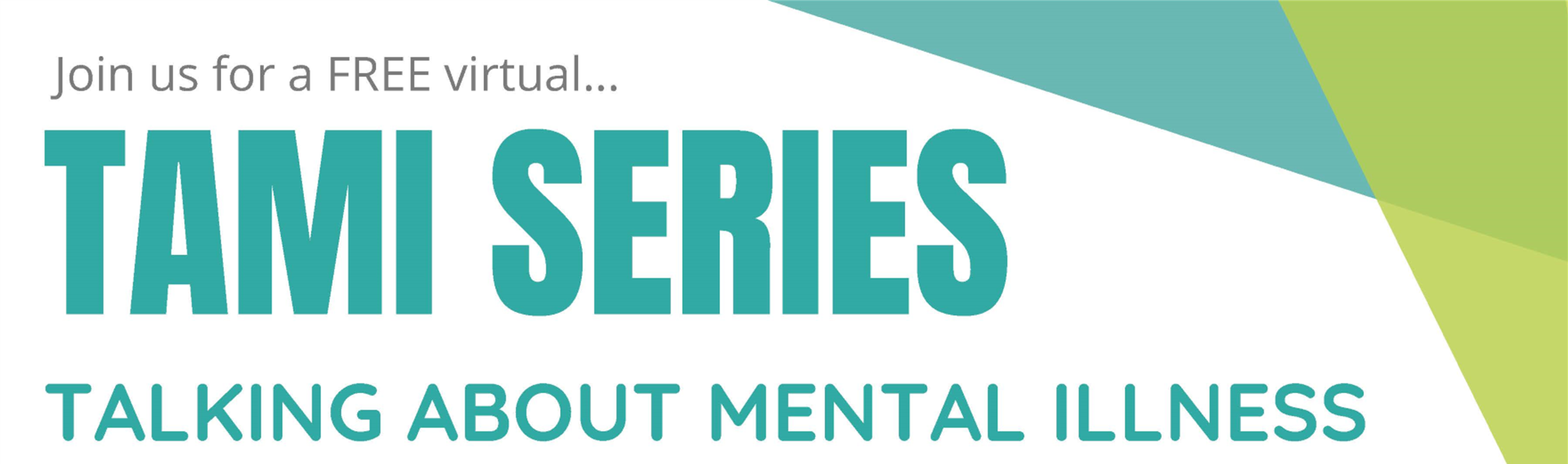 Join us for a FREE virtual TAMI series