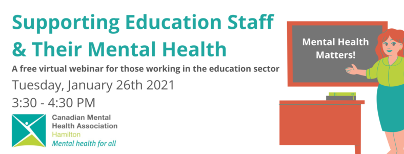 Supporting Education Staff and their Mental Health