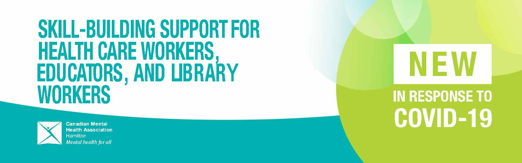 Skill-Building Support for Health Care Workers, Educators, and Library Workers