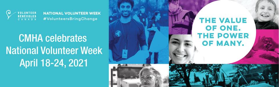 CMHA Celebrates National Volunteer Week