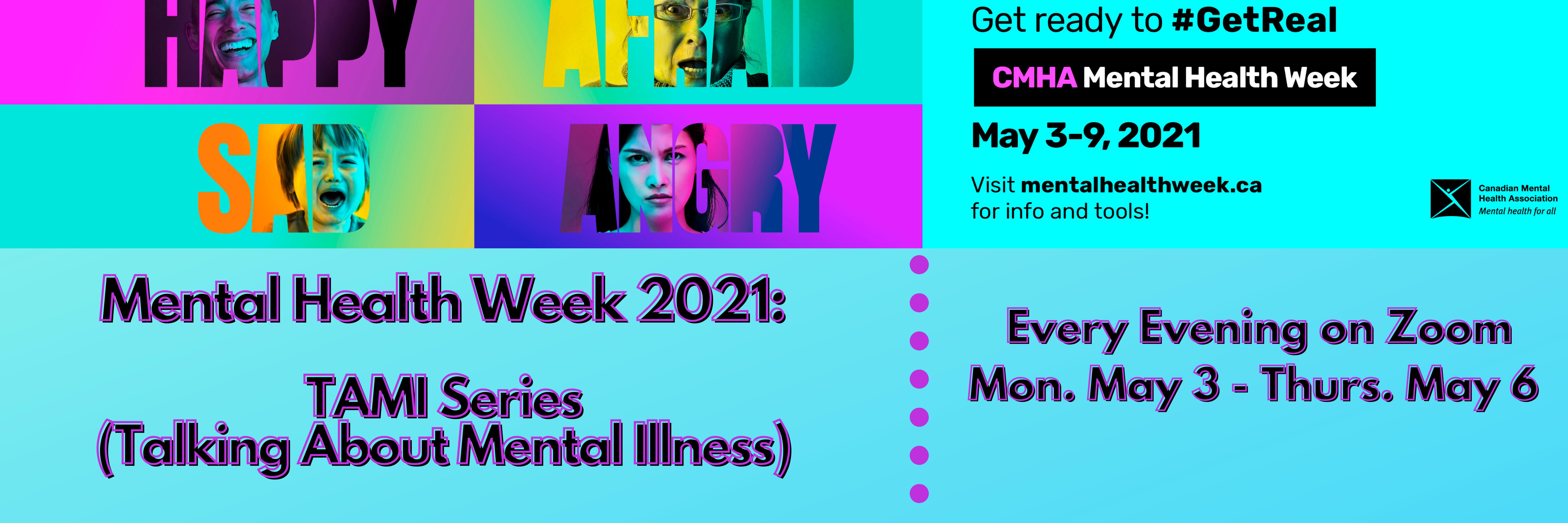 TAMI Mental Health Week 2021 Series